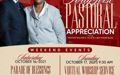 Pastor Ellis 41st Anniversary